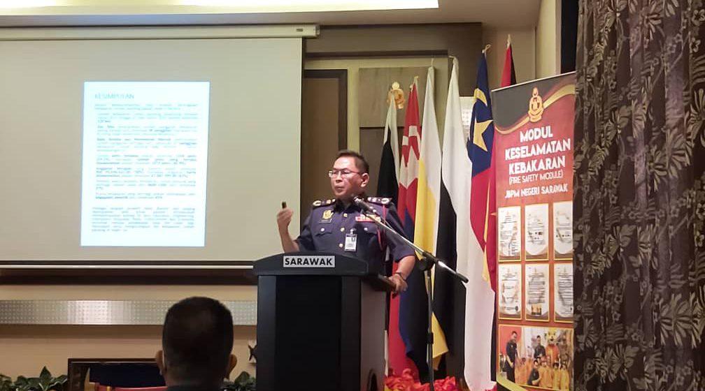 Zon Tengah Sarawak pemadu mayuh kes angus rumah