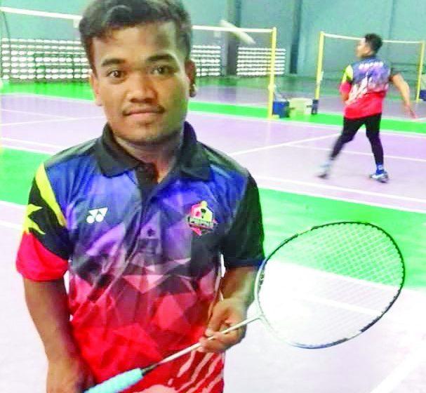 Amin Abdul Rahman ari siku pelakun nyadi pemain badminton