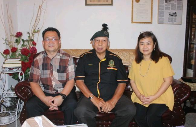 Lt Kol (B) Anwar Basha empat hari 'koma' lepas kena timbak di pala