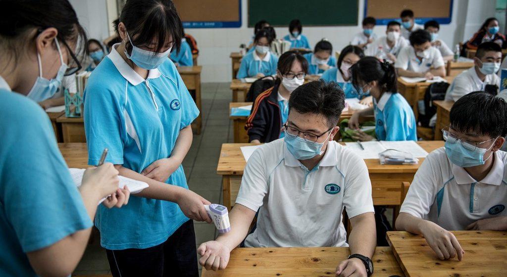 Wuhan buka semula sekolah