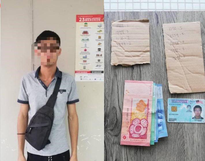Penjual loteri tanpa lesen dicekup di Bau
