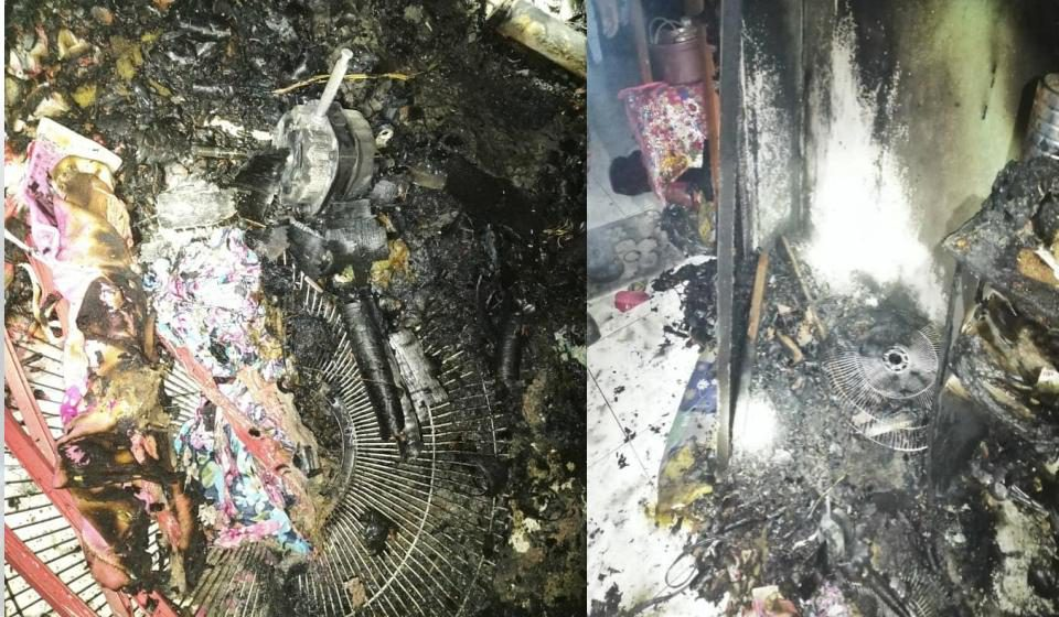 13 penghuni terselamat dari kebakaran di Kampung Rampangi