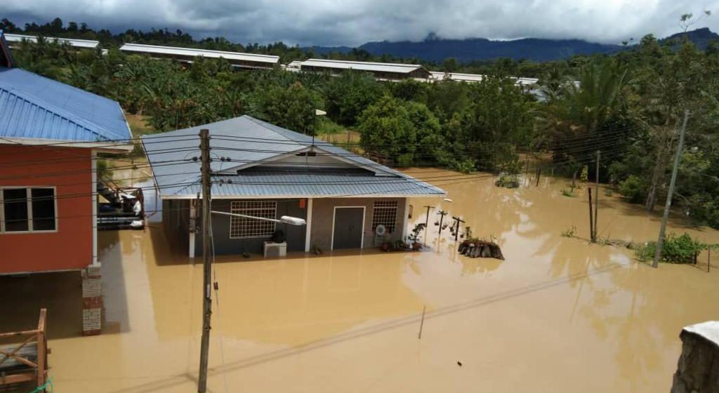 Daerah Belaga turut dinaiki air
