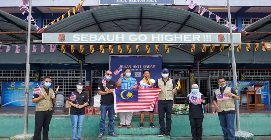 Extrameal Bintulu tampil bantu mangsa kebakaran di Sk Sebauh