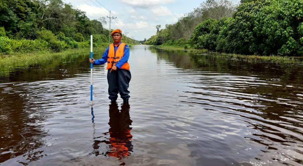 APM tinjau kawasan berisiko dinaiki air di Sibu