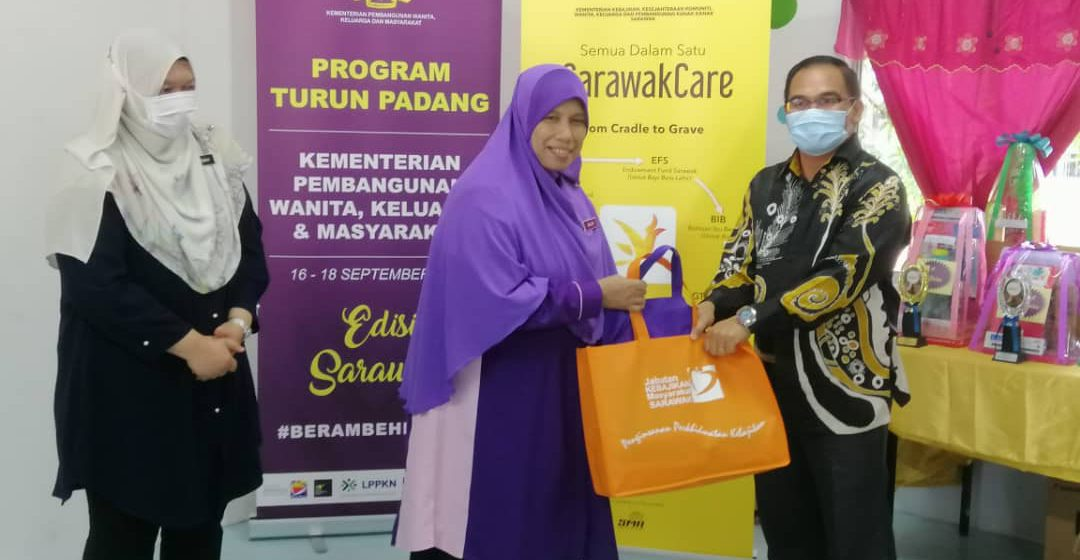 RM6.3 juta diagih ungkup 55 PDK di Sarawak