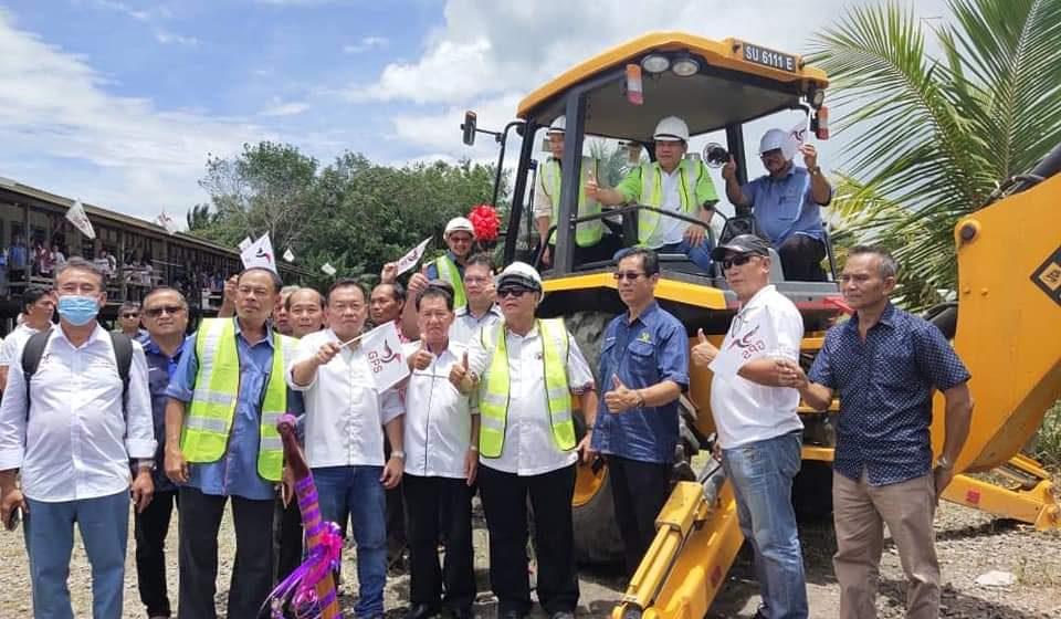 Projek bekal karan di Sapudun, Selangau tembu 2021