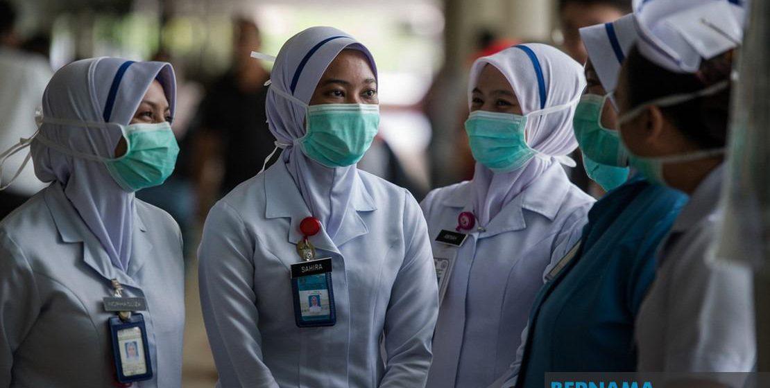 Lebih 600 petugas kesihatan dijangkiti COVID-19