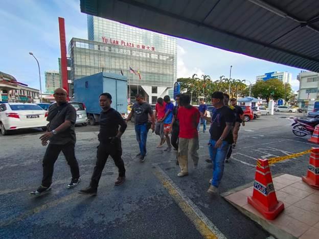 Lima individu ditahan disyaki terlibar kes curi kabel di Miri