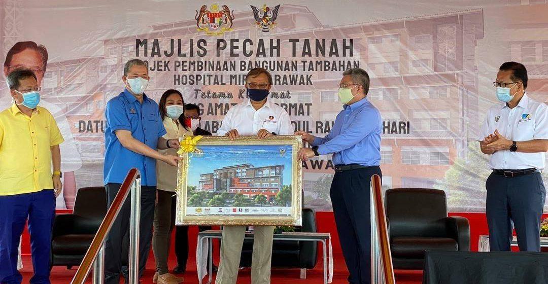 Kerajaan Sarawak tingkatkan infrastruktur fizikal, digital di wilayah utara