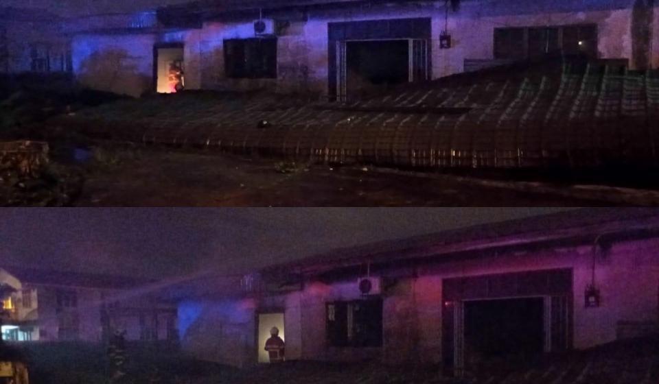 Rumah tiada berpenghuni terbakar di Jalan Foochow