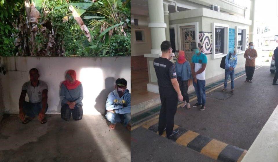 Tiga PATI berjaya diusir keluar daripada memasuki Sarawak