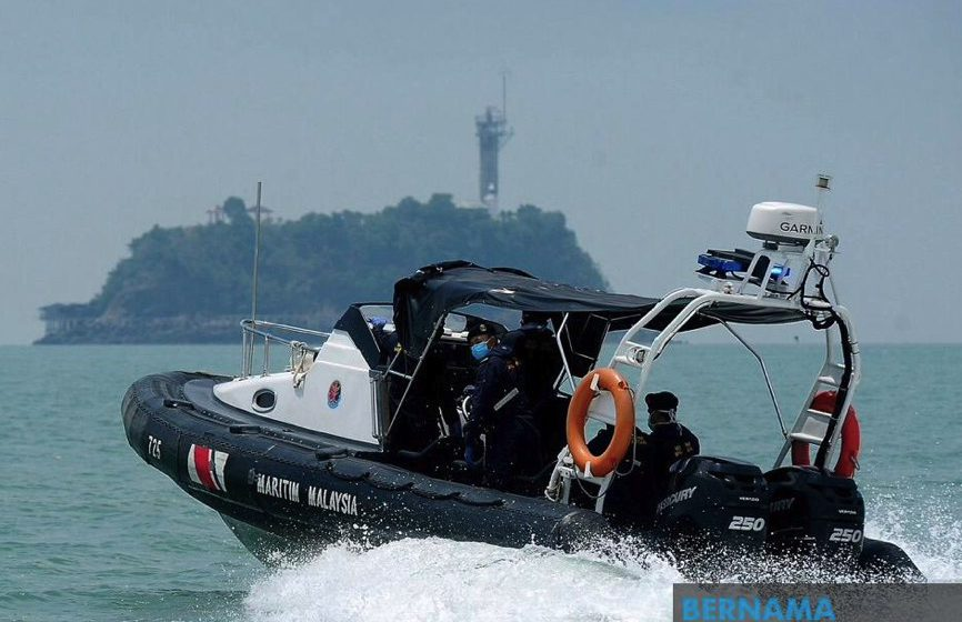 Enam bot nelayan China ditahan masuk perairan M'sia tanpa kebenaran