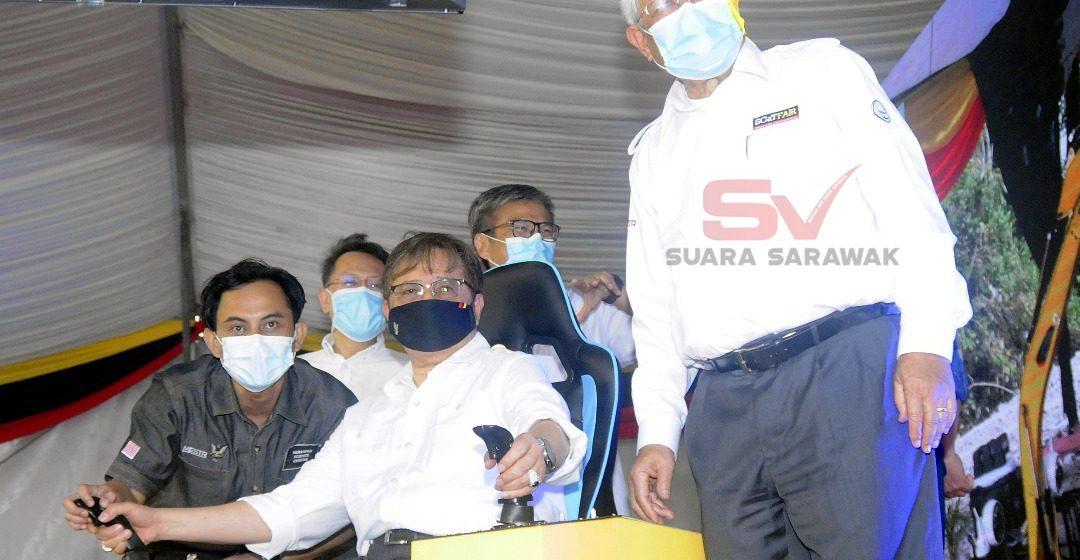 Penumbuh Palan Sains Sarawak dikena ngemujur agenda teknologi
