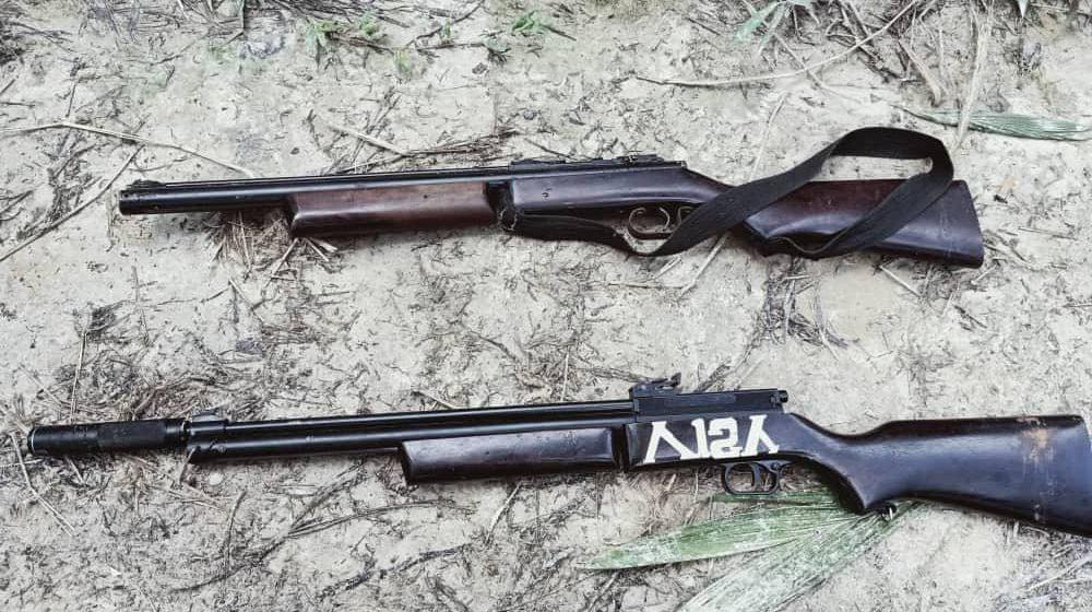 Dua saspek gagal seludup senapang angin di sempadan