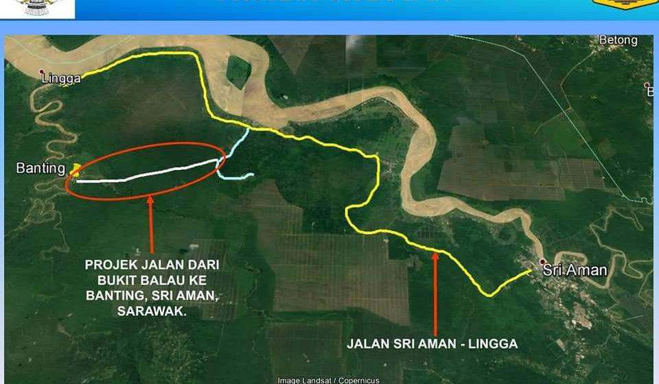 Projek Jalai Bukit Balau-Banting disadang tembu 2023