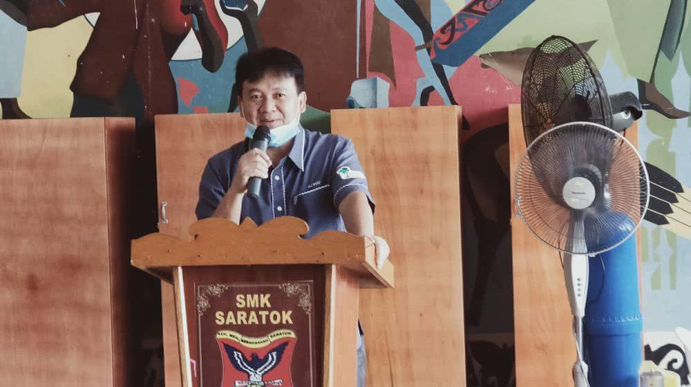 SMK Saratok bepun digaga baru 2021