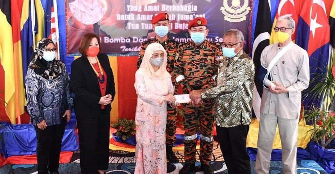 Datin Patinggi Juma'ani ngabas BBP Sibu Sentral