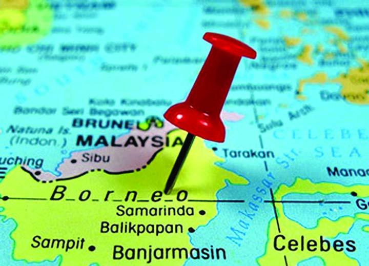 Visi pandang ke Borneo