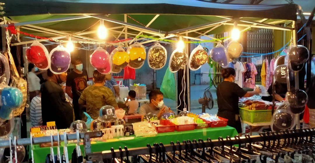 Pasar malam Tamu Nyelong sudut pertemuan pelbagai kaum