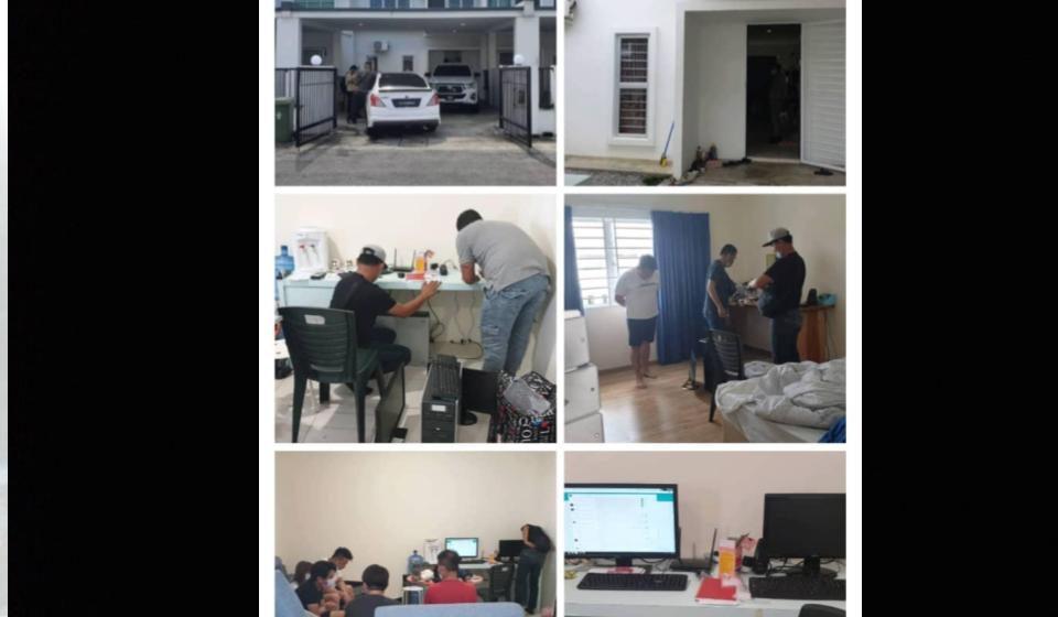 Sindiket untung RM5,000 sehari tumpas di Kuching