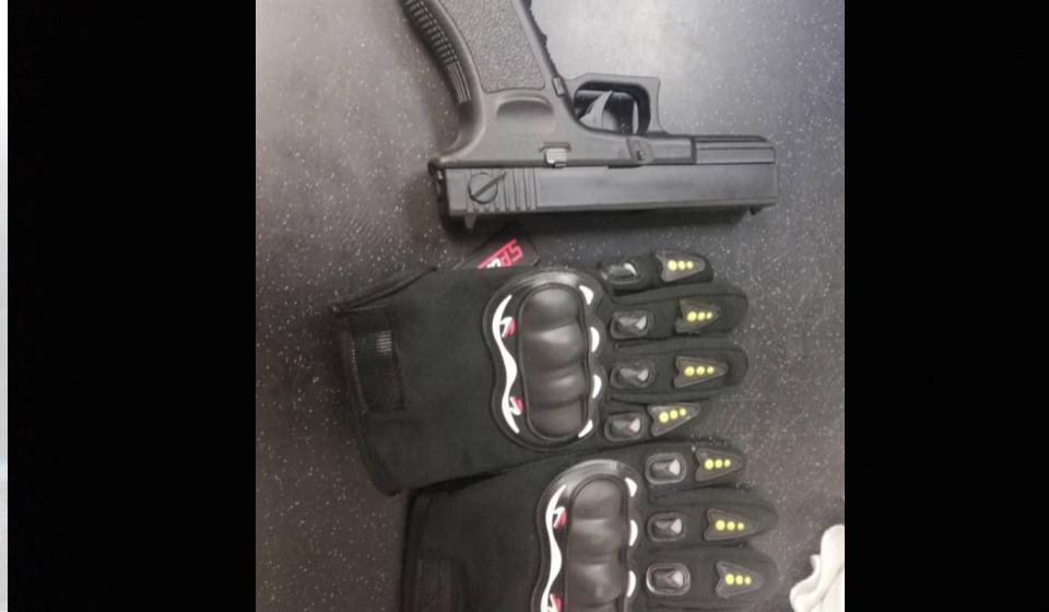 Geng samun guna pistol mainan di Kuching berjaya ditangkap