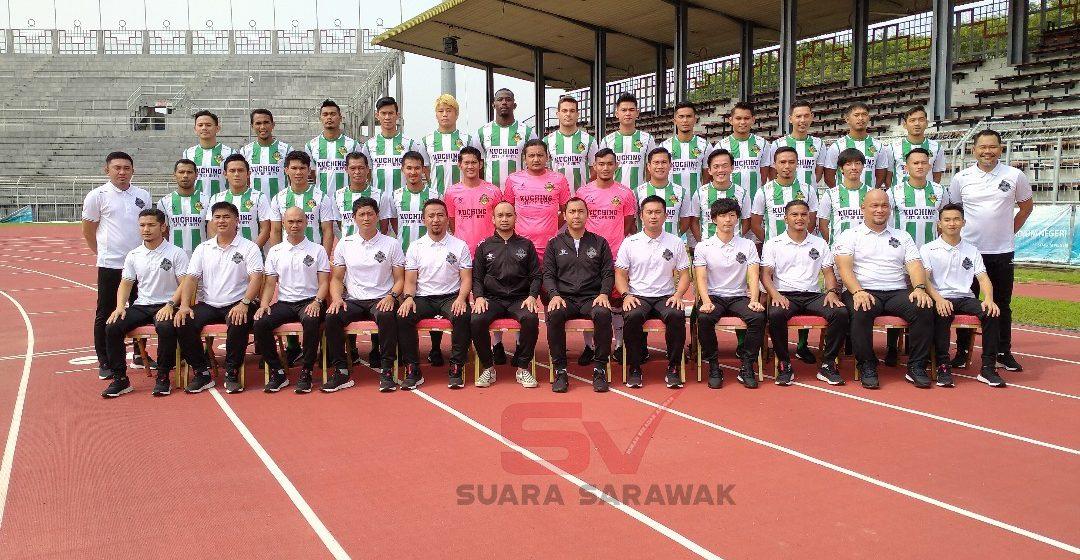 Kuching FA enda ngeri nyatup JDT