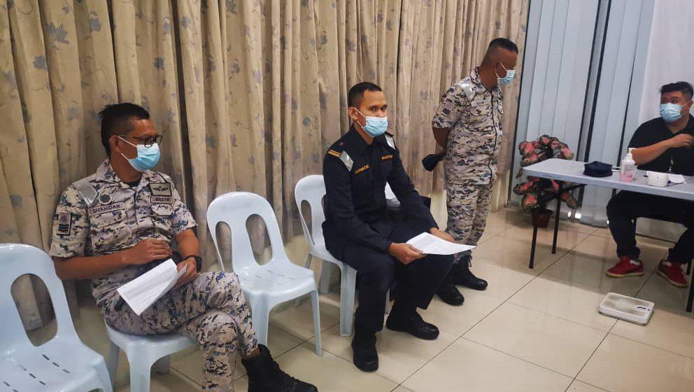 20 ahli pasukan Maritim Malaysia di Bintulu derma darah