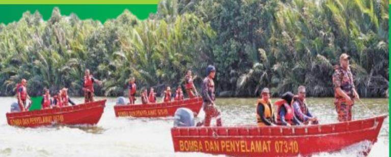 37 buah bot JBPM Sarawak bersedia hadapi Monsun Timur Laut