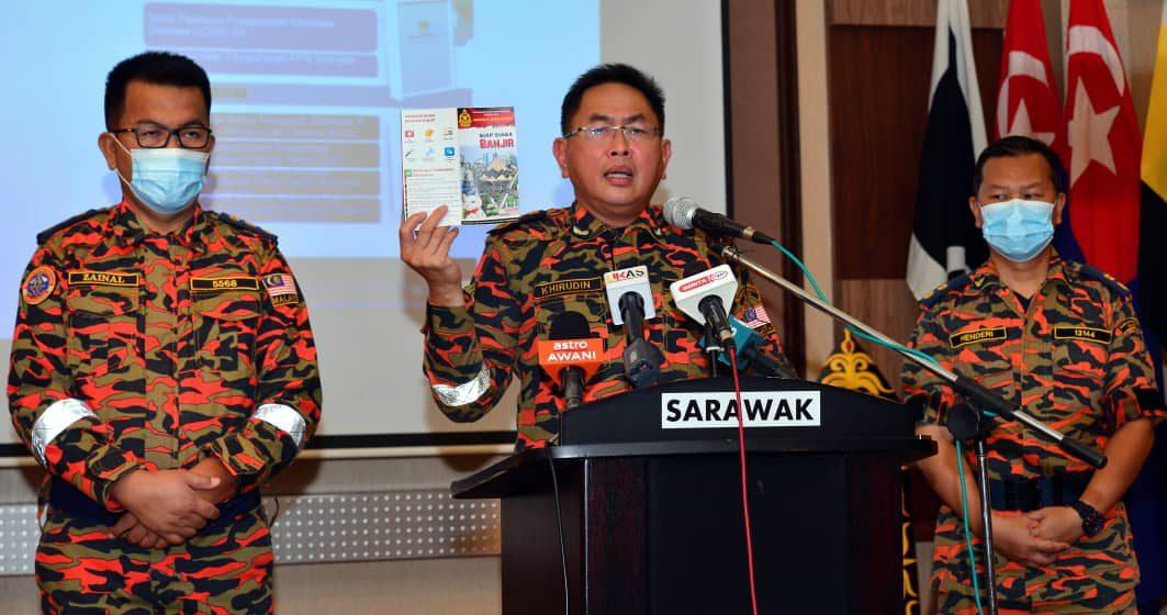 Bomba Sarawak siap sedia hadapi Monsun Timur Laut