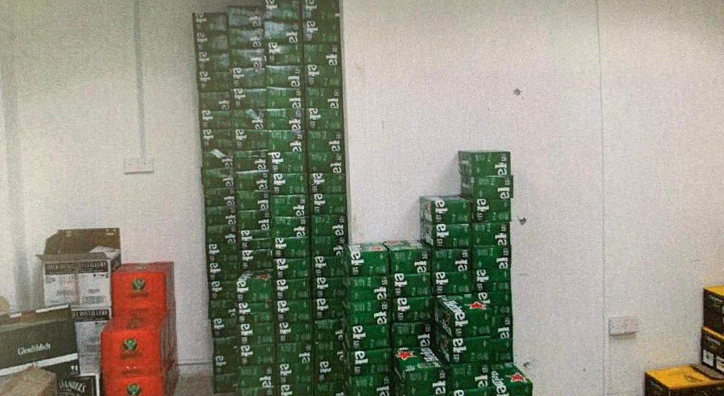Rampasan minuman keras bernilai RM29,705.22 di Miri