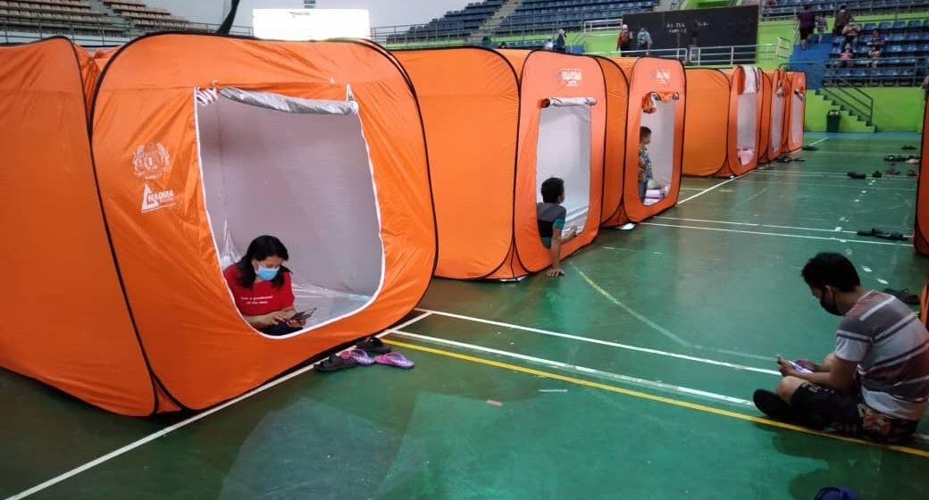 Jumlah mangsa banjir di PPS Stadium Muhibah Bintulu meningkat