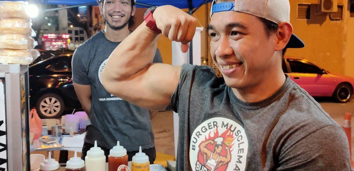 Burger Abang Sado Unik