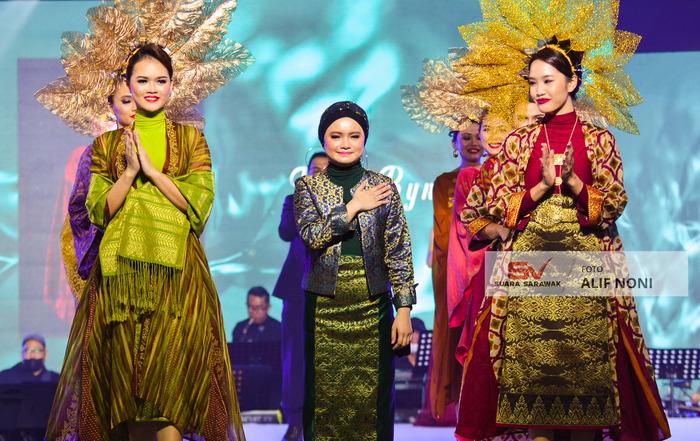 Songket Sarawak ke pentas global