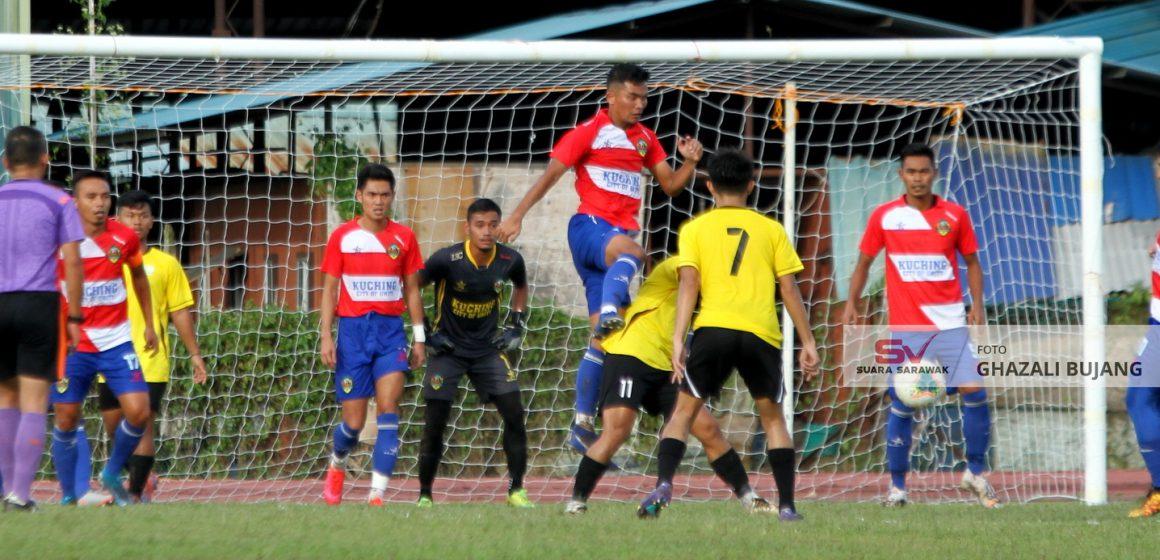 Kelab Bintangor, Sarikei uji Kuching City FC