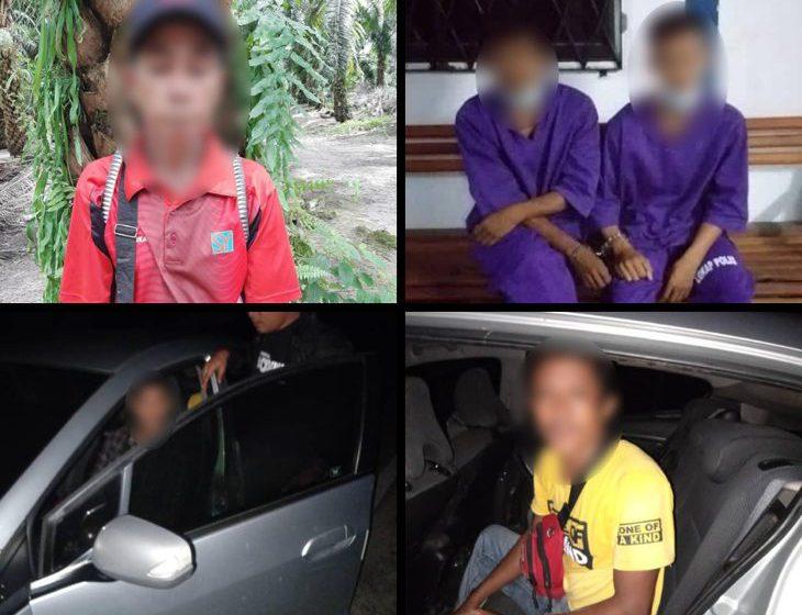 Enam orang lelaki ditahan sepanjang tempoh 11 hari operasi Op Benteng Covid-19 oleh PGA Sarawak