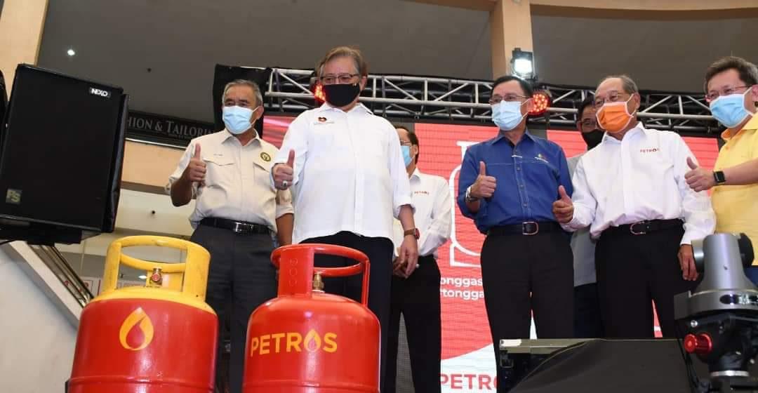 Tung gis LPG Petros beresi sereta likun