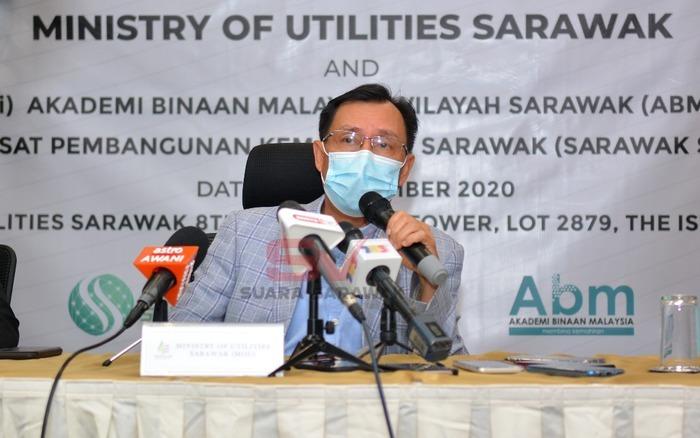 Projek nyendiaka bekal di Sarawak disadang tembu penuh 2022