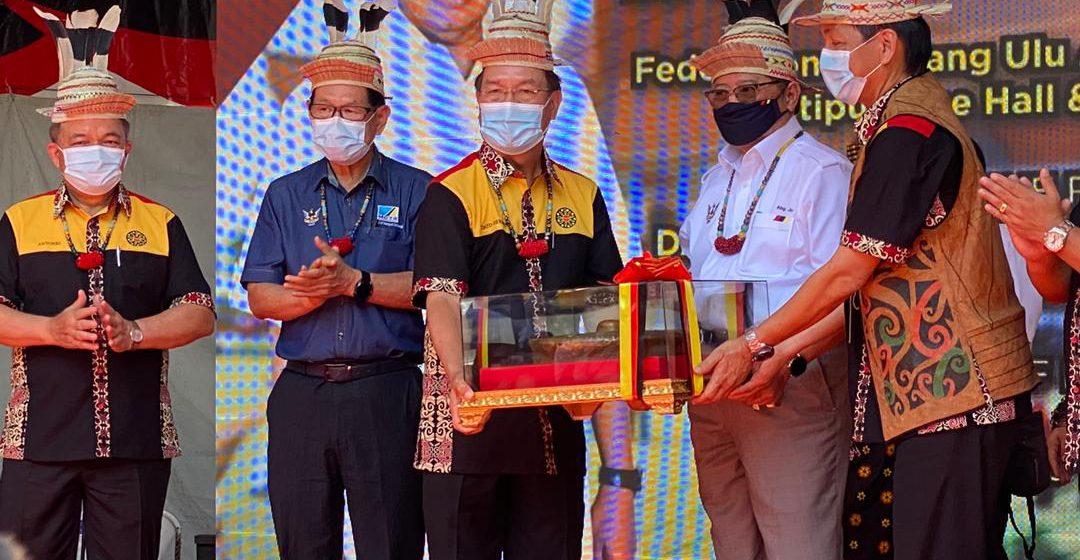 Sarawak nerima pemeranak puku pemadu mayuh