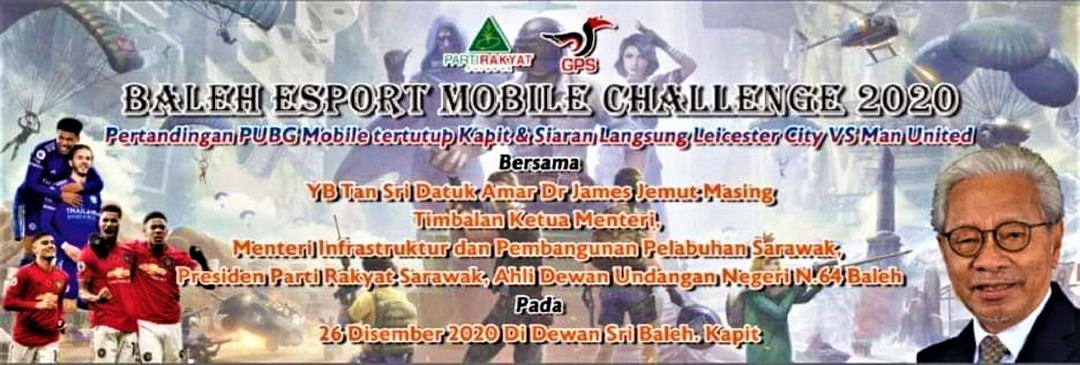 Pekit E-Sport di Baleh, 26 Disember tu