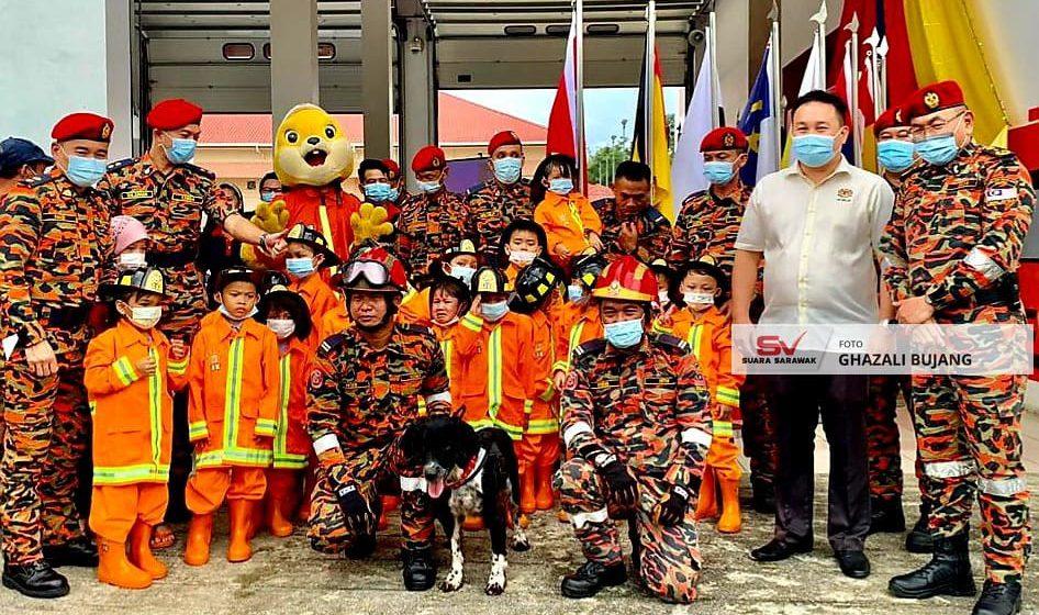 Dua buah balai bomba kategori E akan dibina di Puncak Borneo
