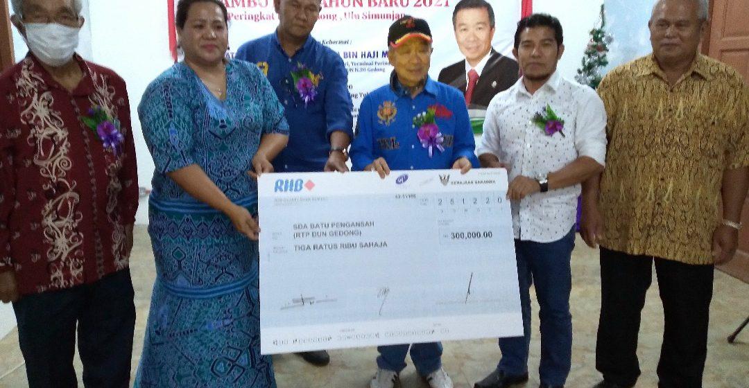 RM150 juta dikemendar kena ngaga jalai ke Gedung – Ulu Simunjan