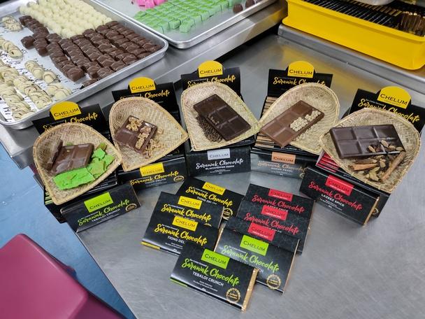 Coklat Sarawak rasa antarabangsa