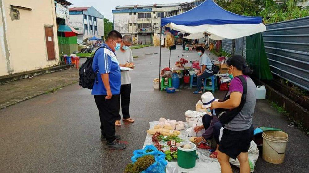 Pasar Mingguan Sibu sepi