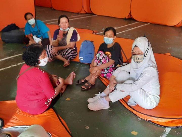 Keperluan asas mangsa banjir mencukupi