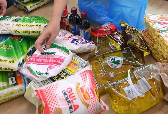 300 penduduk Asajaya terima bakul makanan