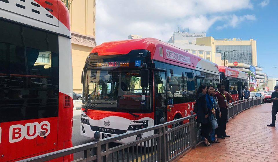 Perkhidmatan bas hidrogen percuma diteruskan