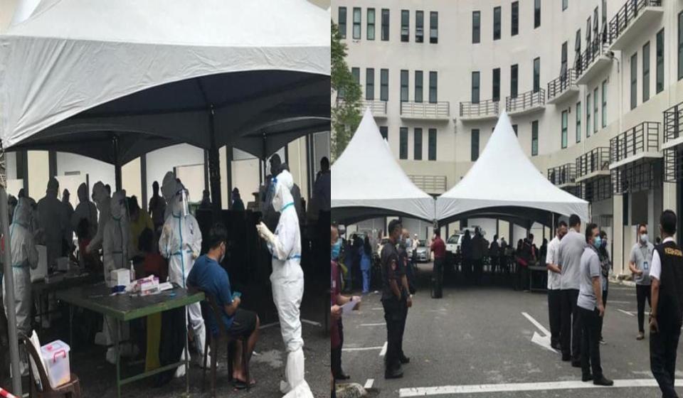 Pengesanan kes aktif dilaksanakan di Kuching