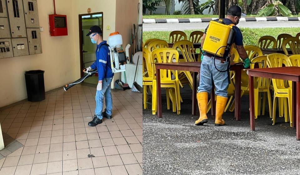 Sanitasi dilakukan di kawasan tumpuan penduduk Mukah