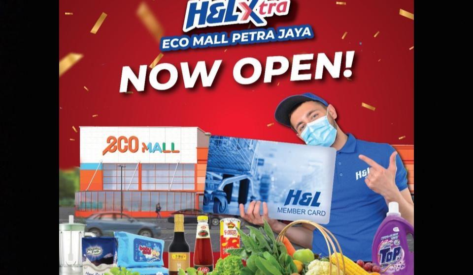 H&L XTRA Petra Jaya penuhi permintaan pelanggan